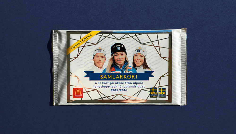 McDonald's packaging front