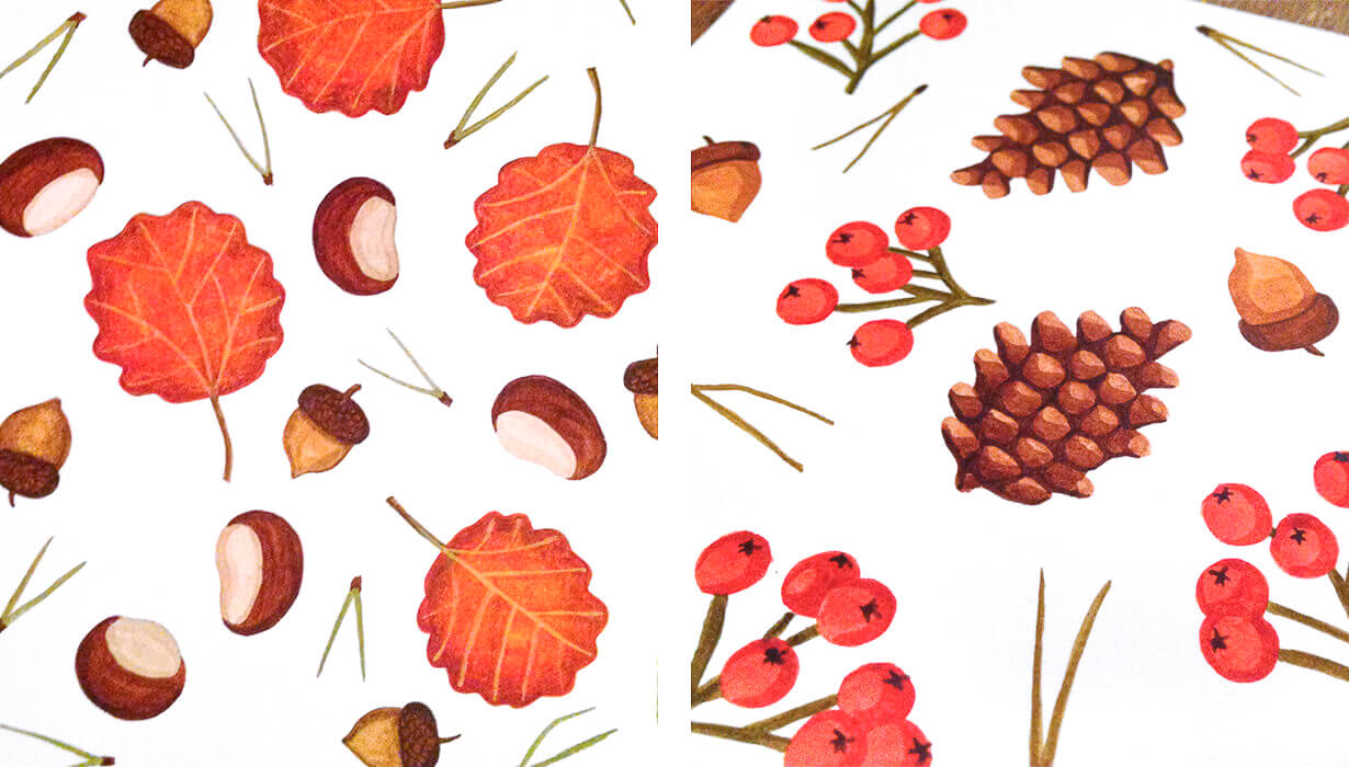 Autumn patterns 1