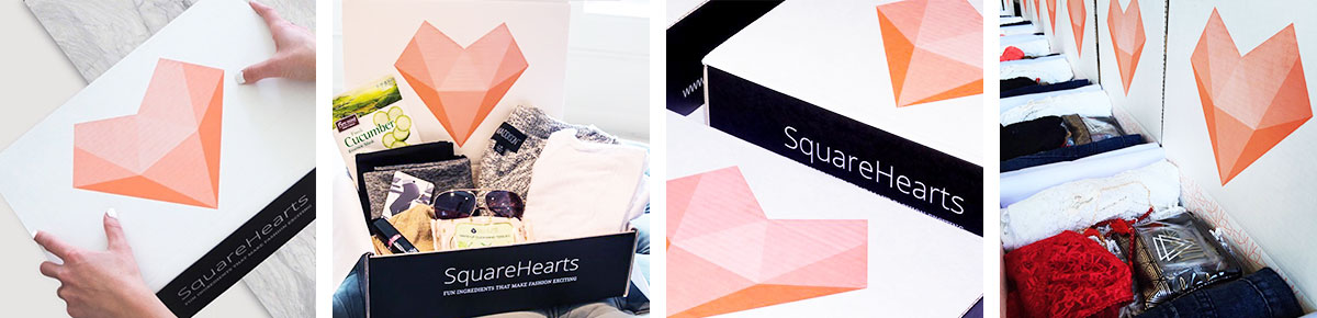 SquareHearts packaging