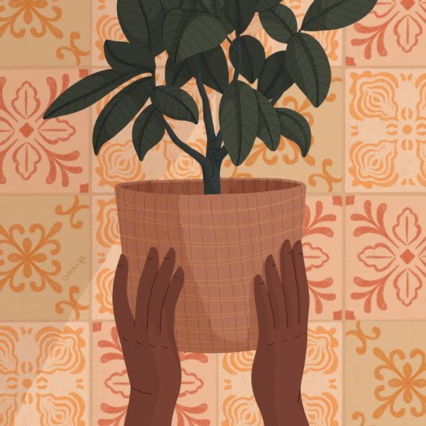 Plants thumb